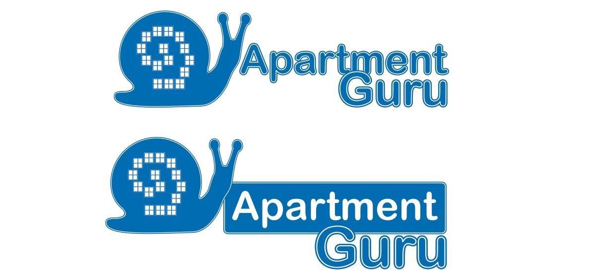 Дизайн логотипа сайта apartment guru - дизайнер ks_bokova