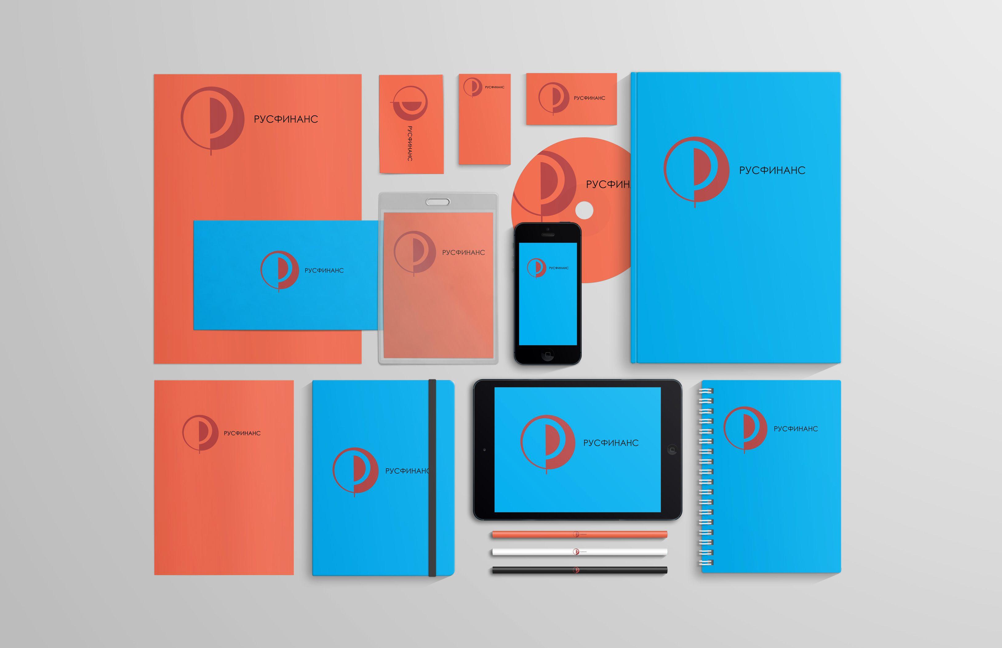 Логотип для Русфинанс - дизайнер give_5