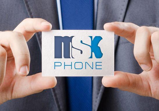 Логотип для MSKPHONE - дизайнер art-valeri