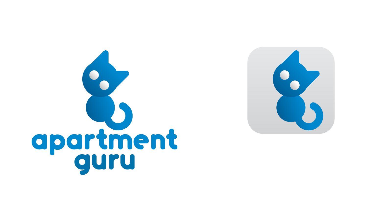 Дизайн логотипа сайта apartment guru - дизайнер chervininR