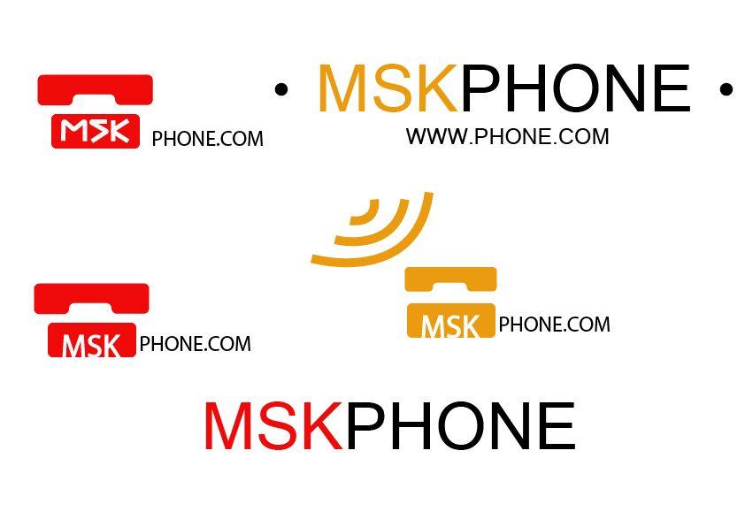 Логотип для MSKPHONE - дизайнер Free_identity