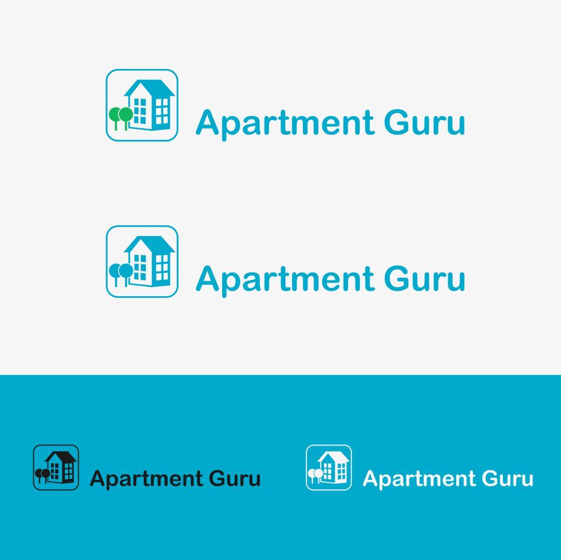 Дизайн логотипа сайта apartment guru - дизайнер hpya