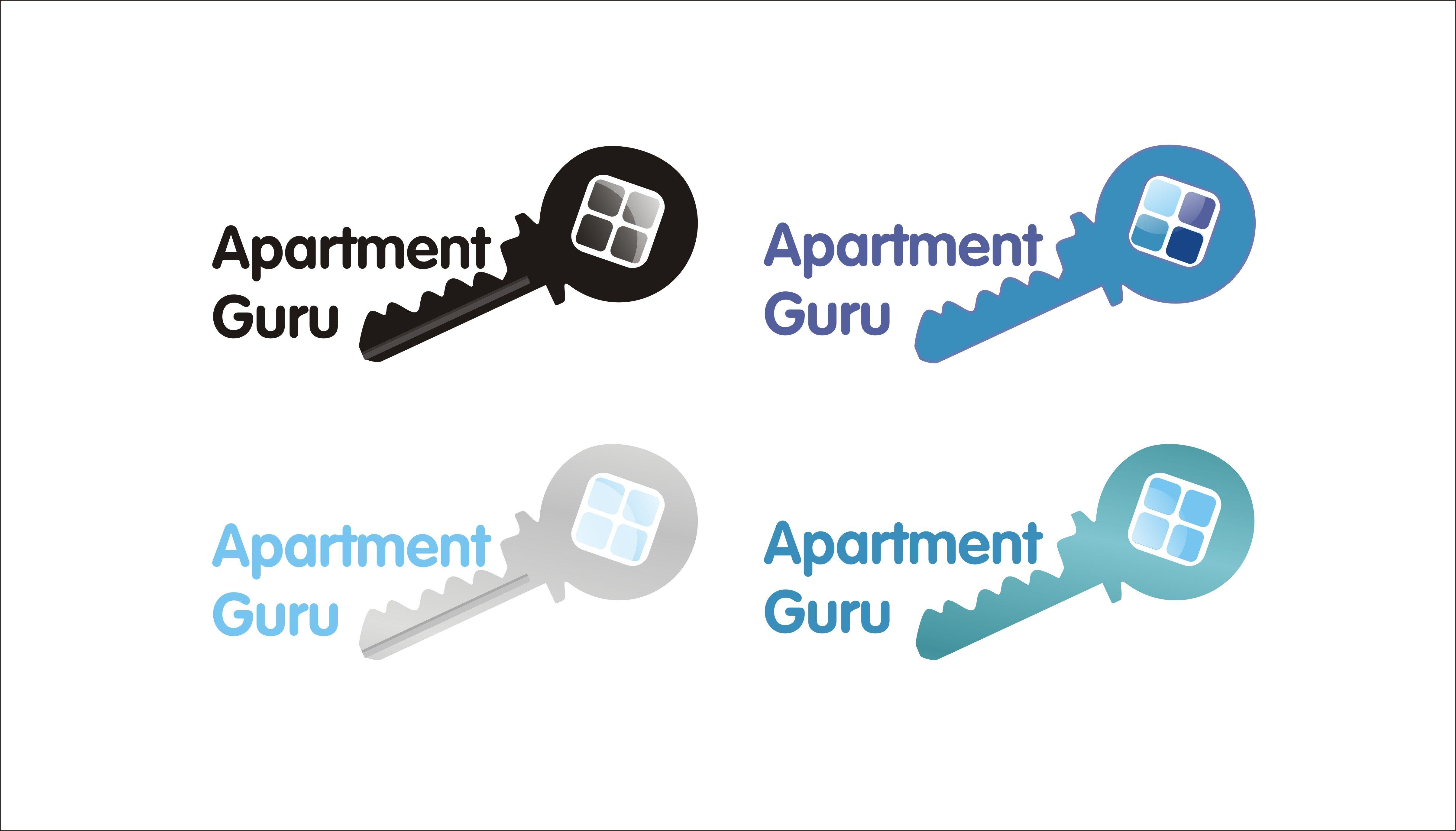 Дизайн логотипа сайта apartment guru - дизайнер Nedowo