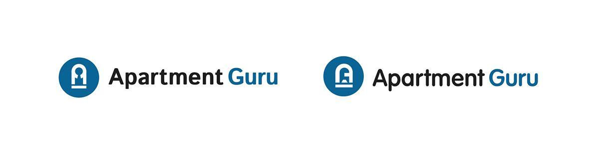 Дизайн логотипа сайта apartment guru - дизайнер feign