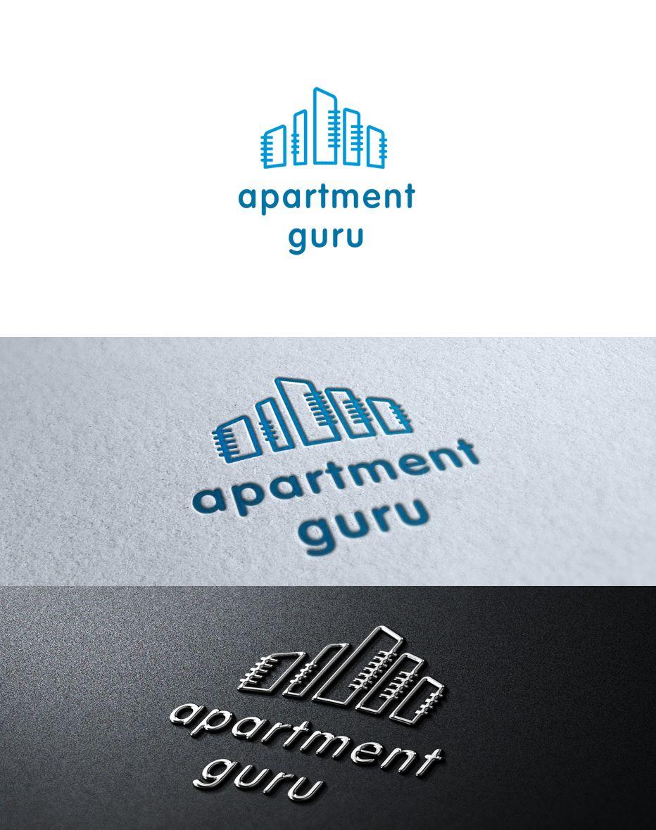 Дизайн логотипа сайта apartment guru - дизайнер remezlo