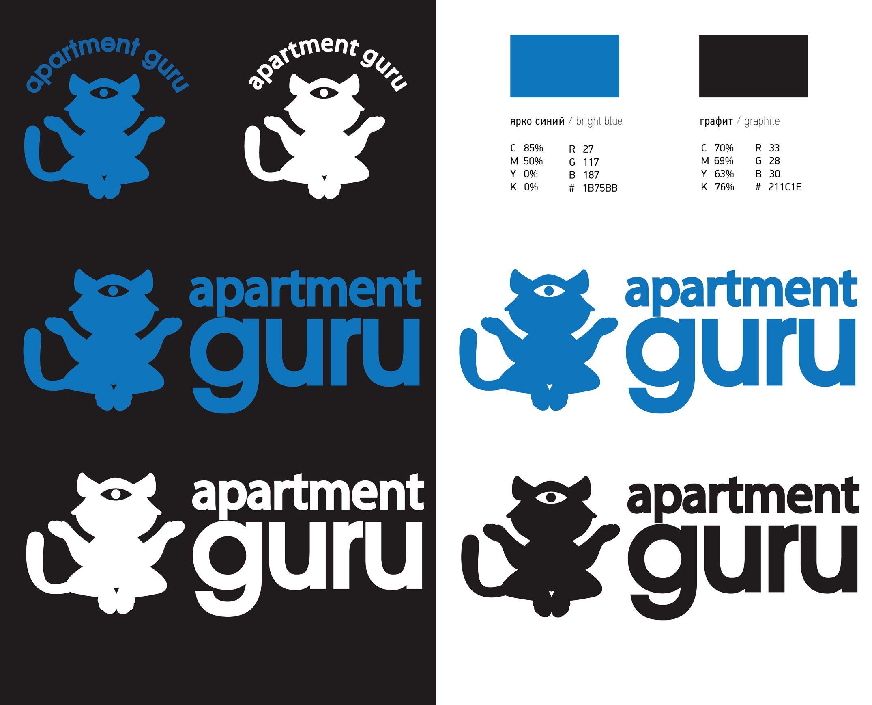 Дизайн логотипа сайта apartment guru - дизайнер YuliyaYu