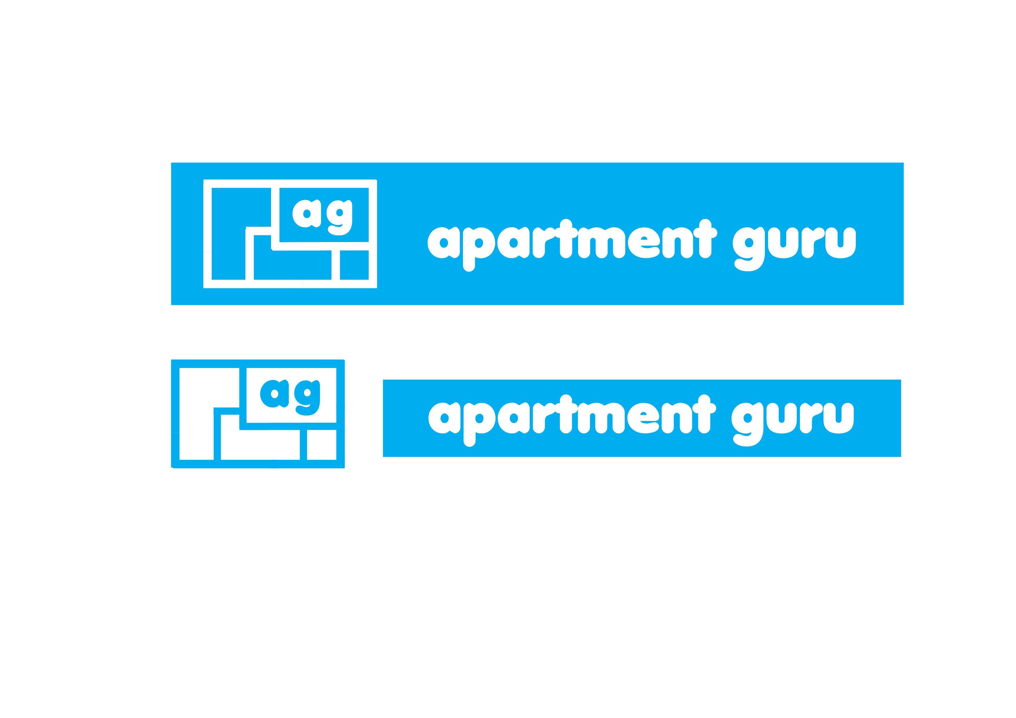Дизайн логотипа сайта apartment guru - дизайнер YBarankova