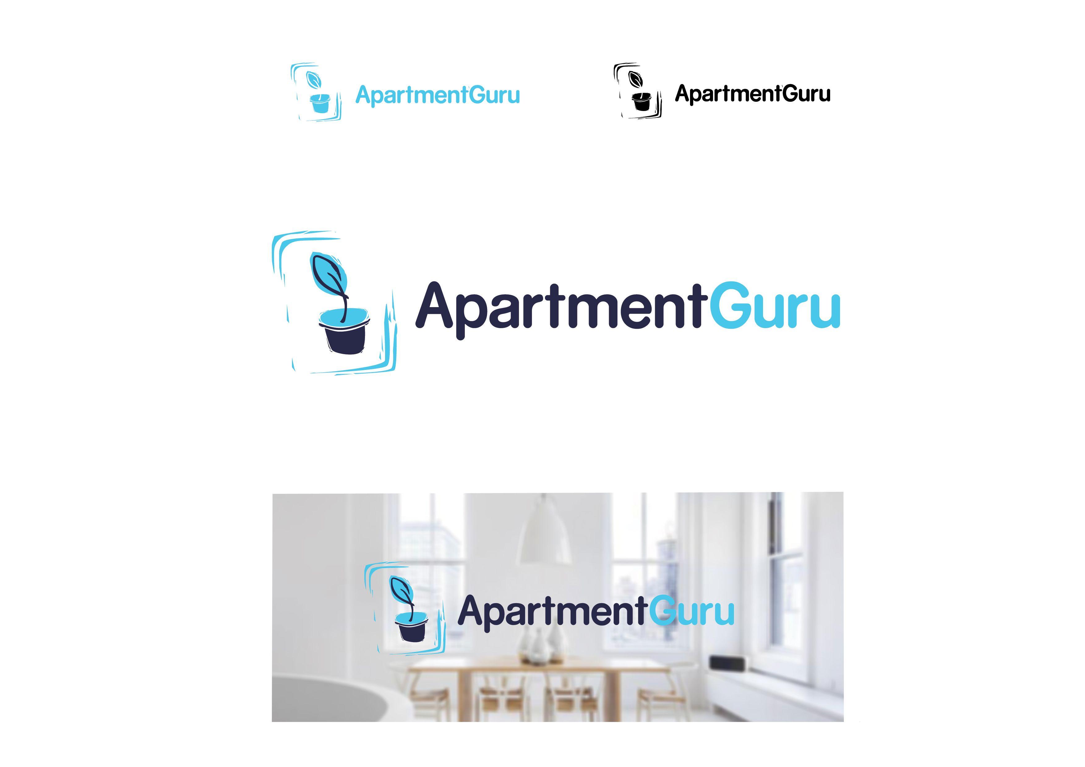 Дизайн логотипа сайта apartment guru - дизайнер kolotova