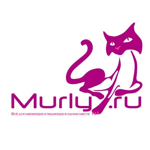 Логотип магазина материалов для наращивания ногтей - дизайнер zhutol