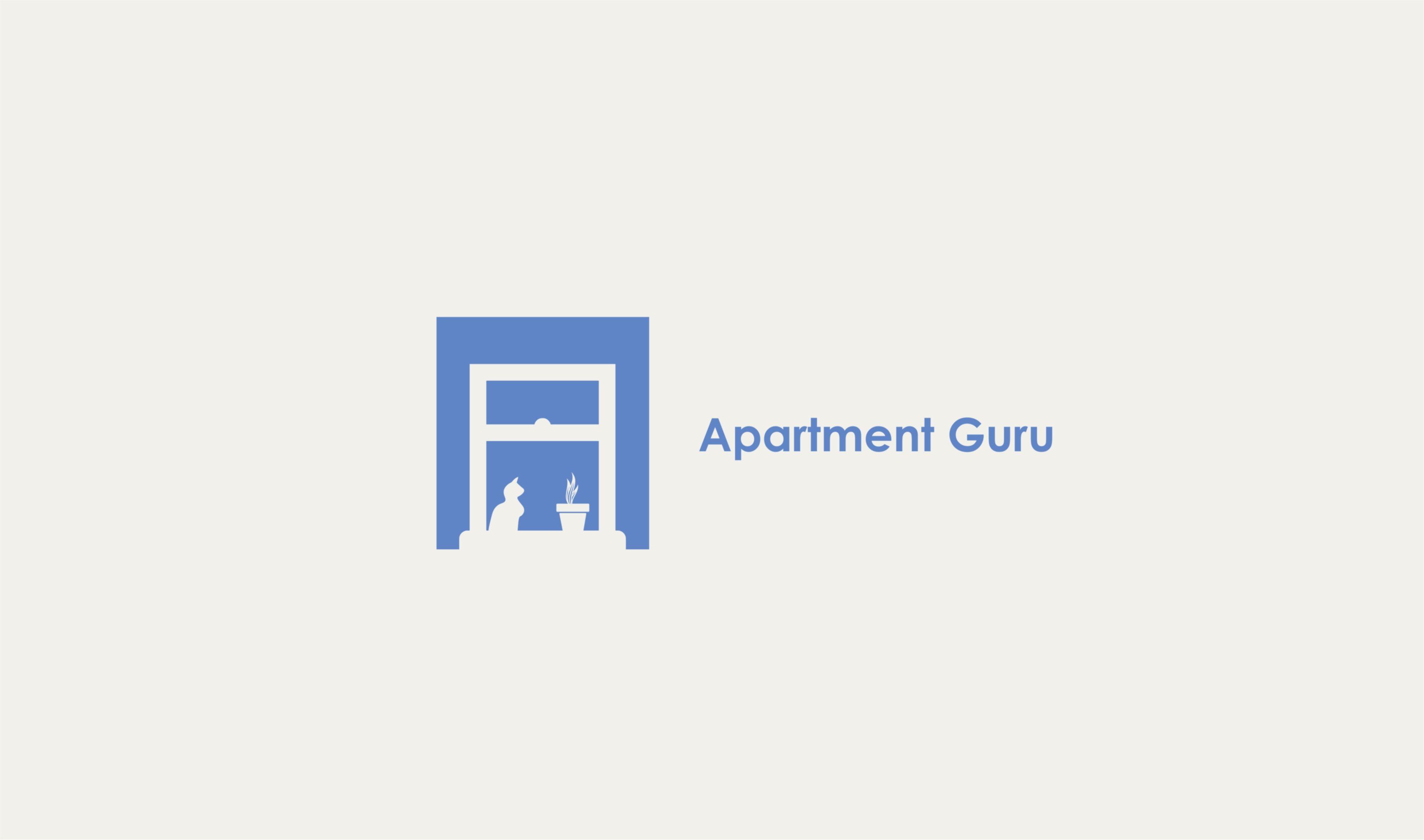 Дизайн логотипа сайта apartment guru - дизайнер give_5