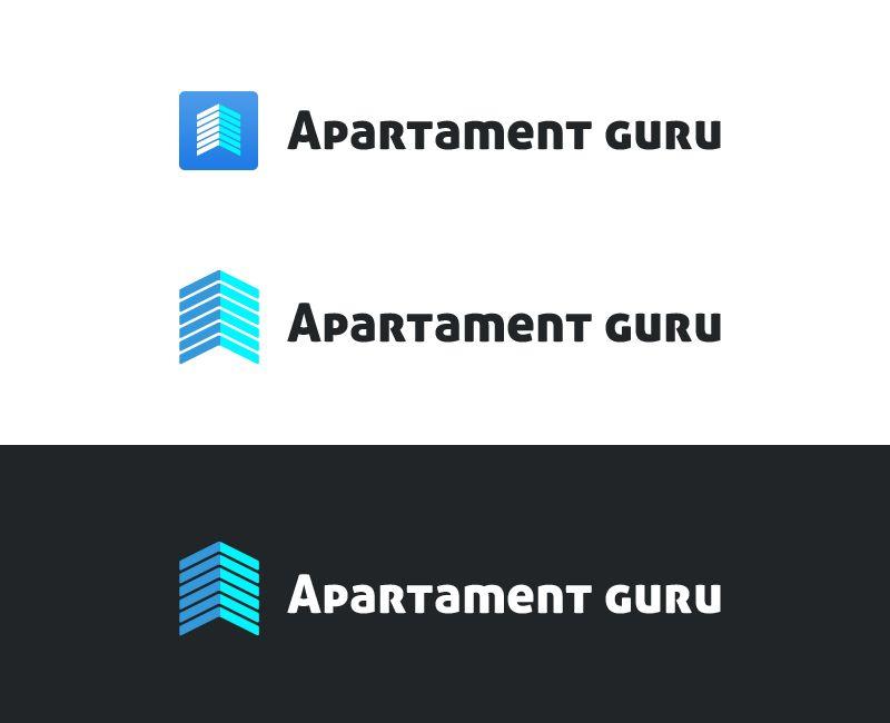 Дизайн логотипа сайта apartment guru - дизайнер Evgen555