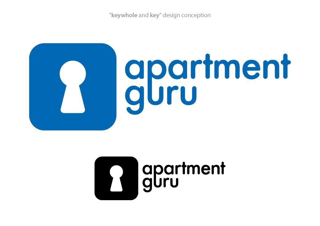 Дизайн логотипа сайта apartment guru - дизайнер artem_de