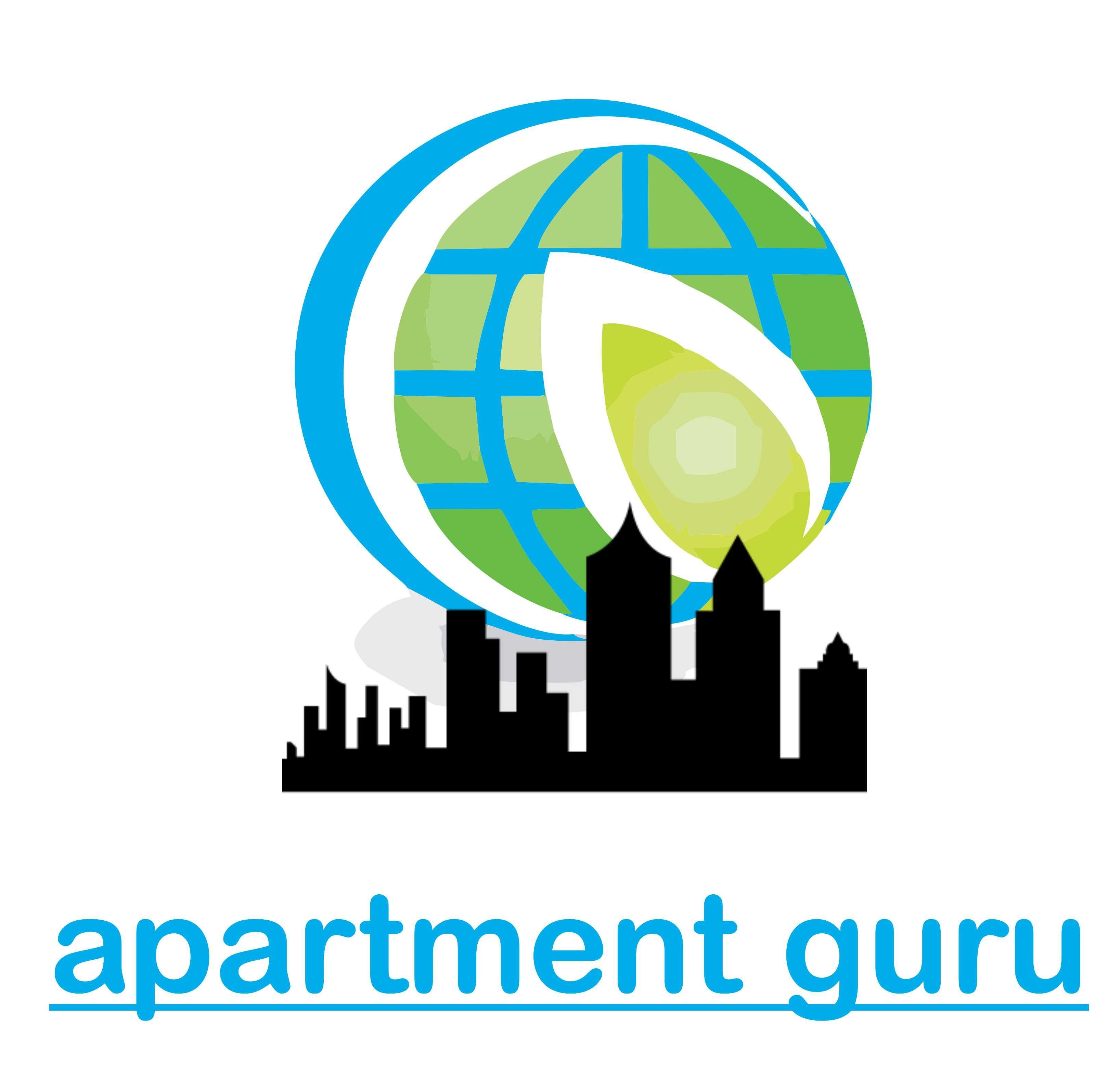 Дизайн логотипа сайта apartment guru - дизайнер jeniulka