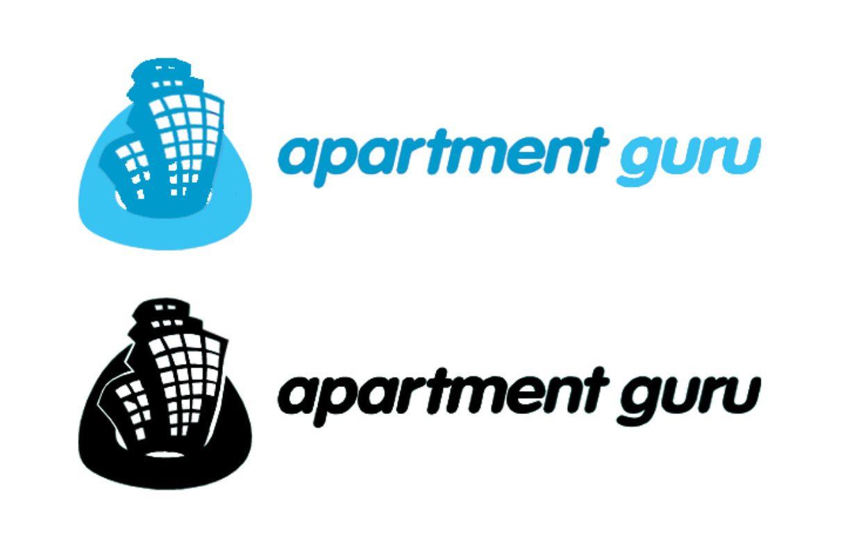 Дизайн логотипа сайта apartment guru - дизайнер jabud