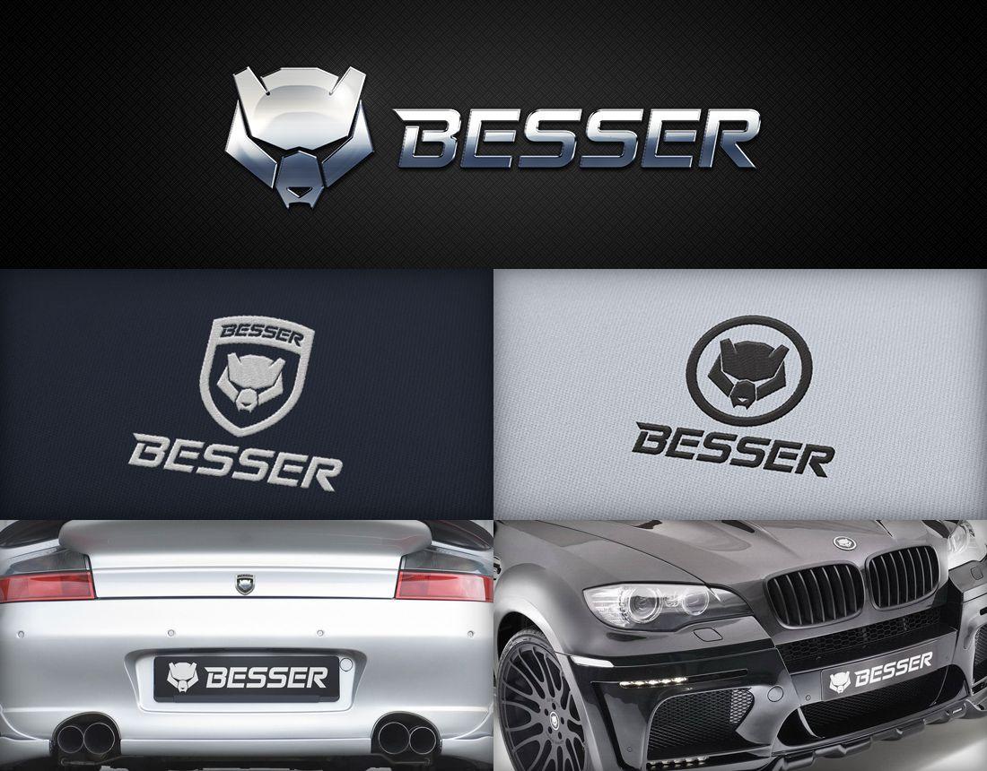 Логотип для тюнинг-ателье BESSER - дизайнер MrPartizan