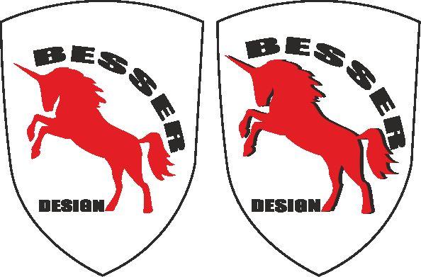 Логотип для тюнинг-ателье BESSER - дизайнер Restavr