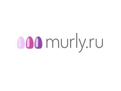 Логотип магазина материалов для наращивания ногтей - дизайнер drobinkin