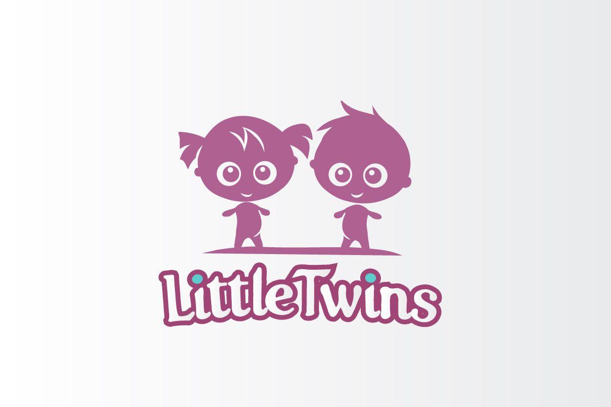 Логотип детского интернет-магазина для двойняшек - дизайнер Kov-veronika