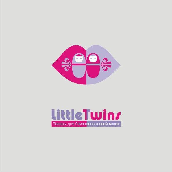 Логотип детского интернет-магазина для двойняшек - дизайнер andyart