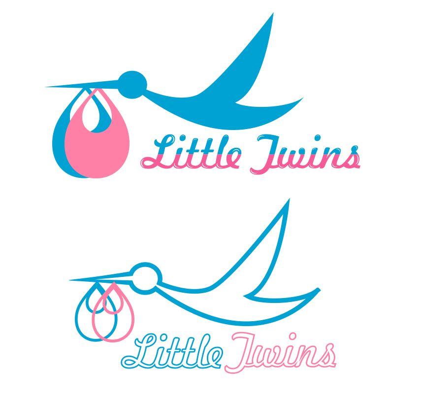 Логотип детского интернет-магазина для двойняшек - дизайнер janezol