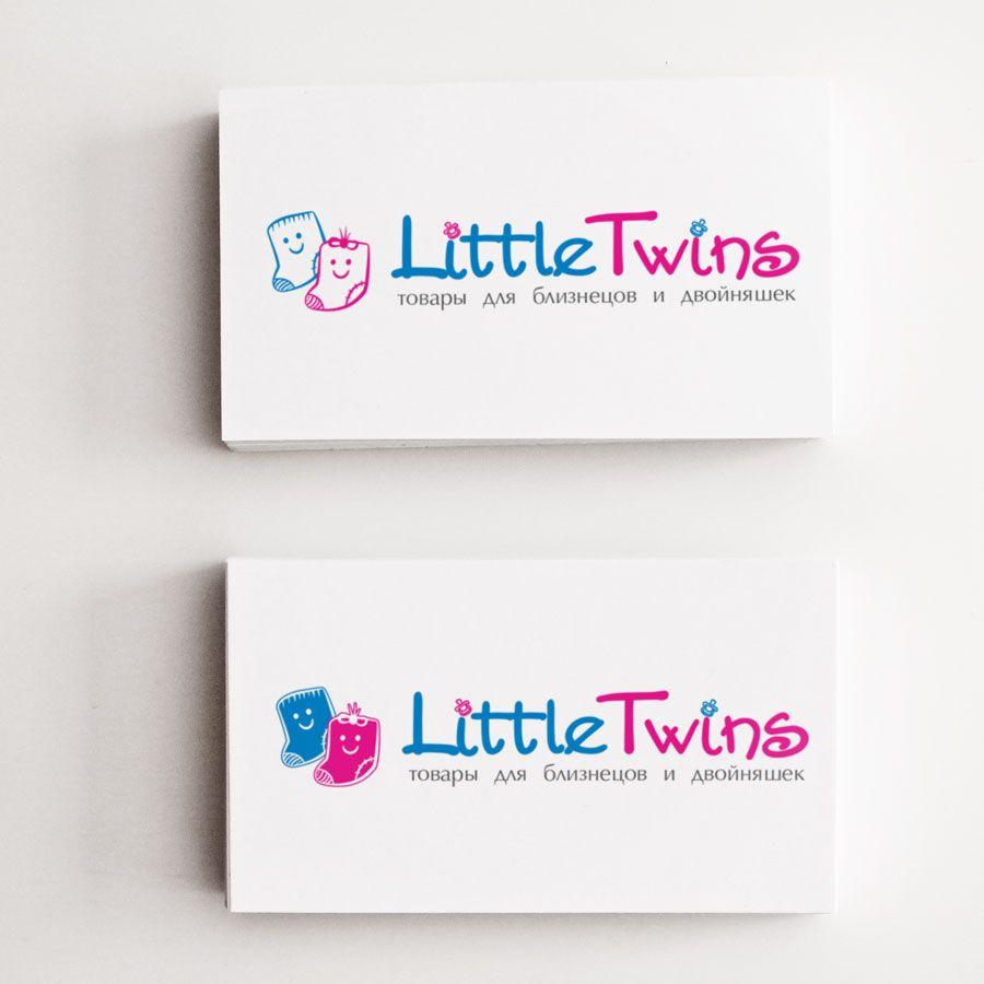 Логотип детского интернет-магазина для двойняшек - дизайнер ready2flash