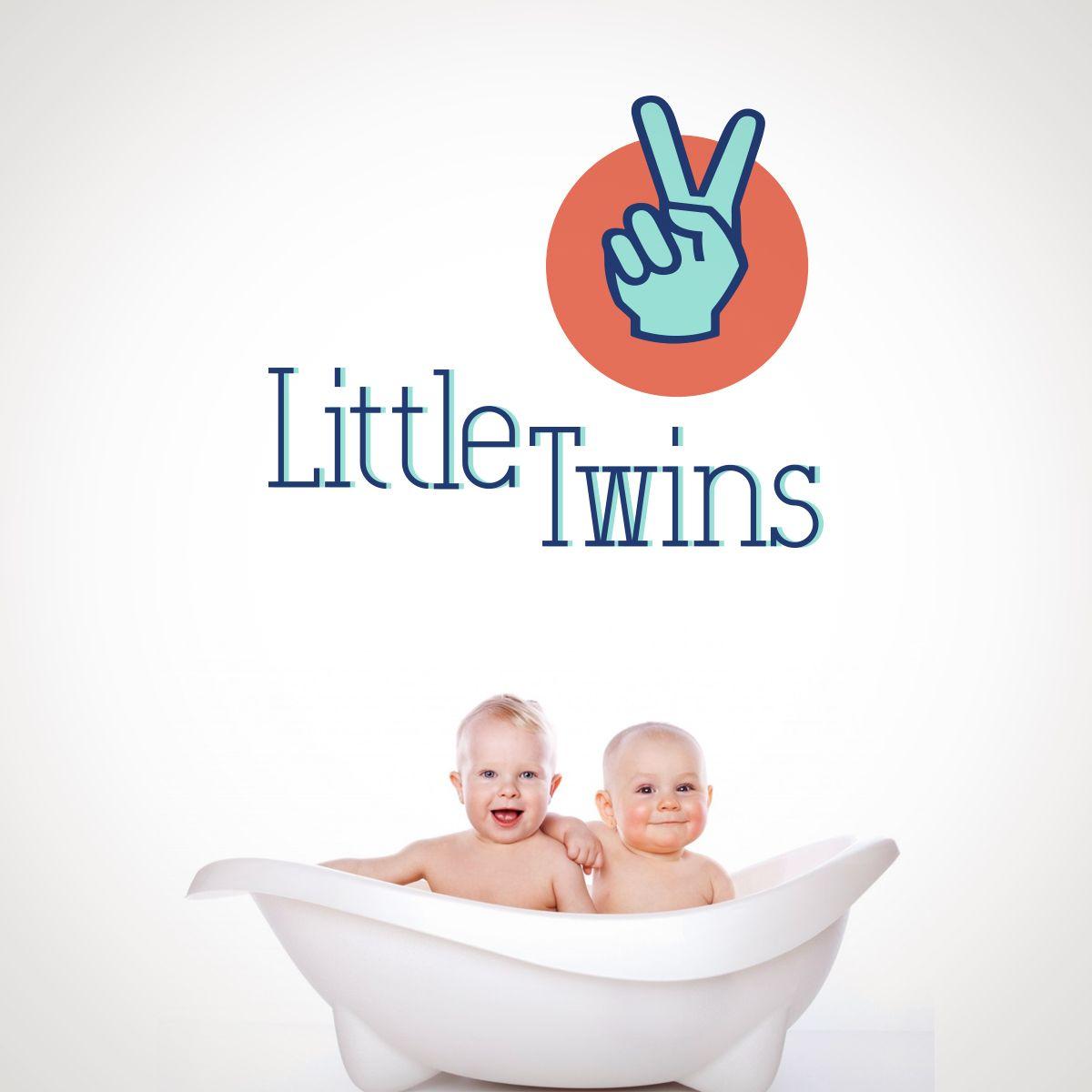 Логотип детского интернет-магазина для двойняшек - дизайнер Nostr