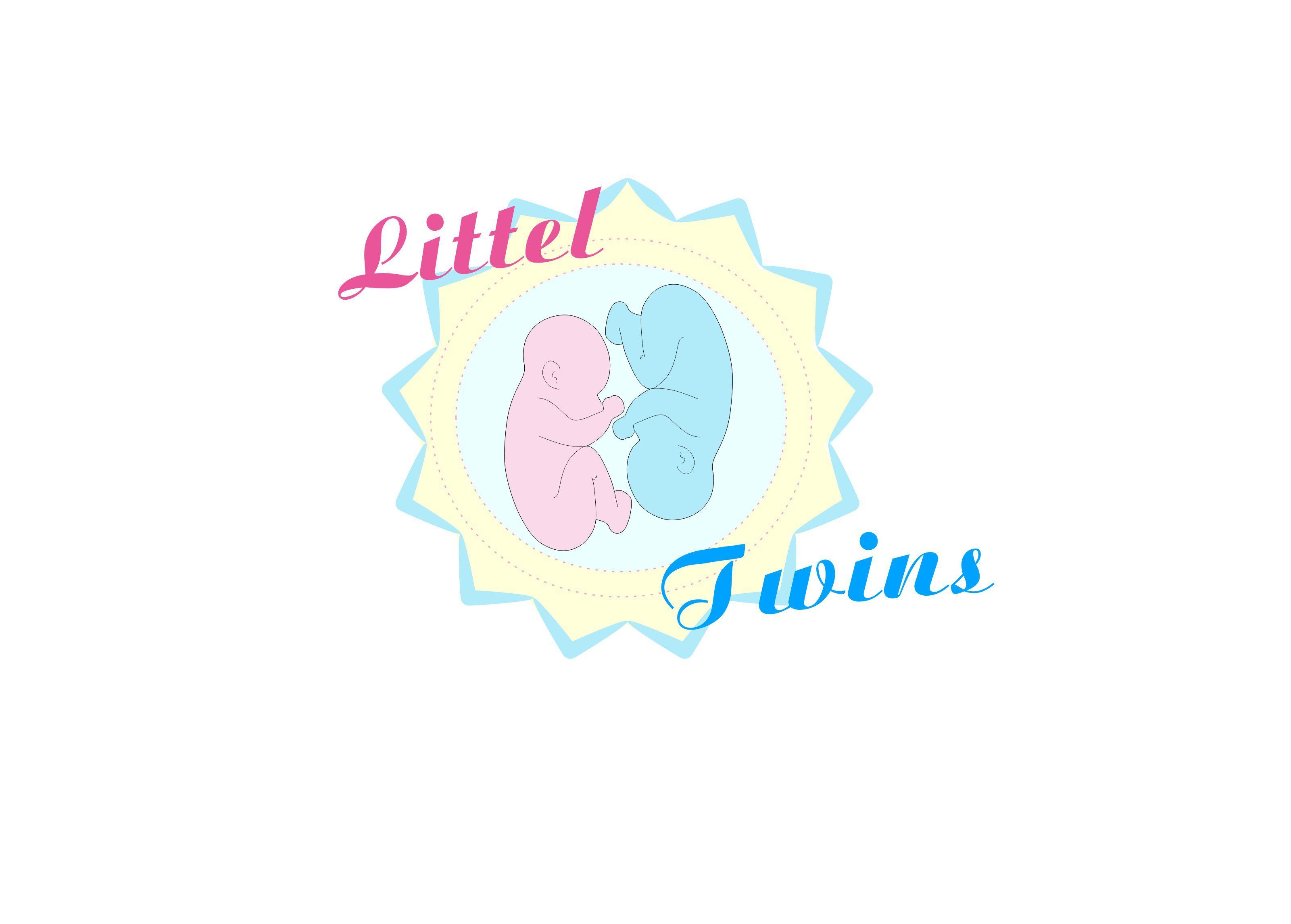 Логотип детского интернет-магазина для двойняшек - дизайнер Rikkoto