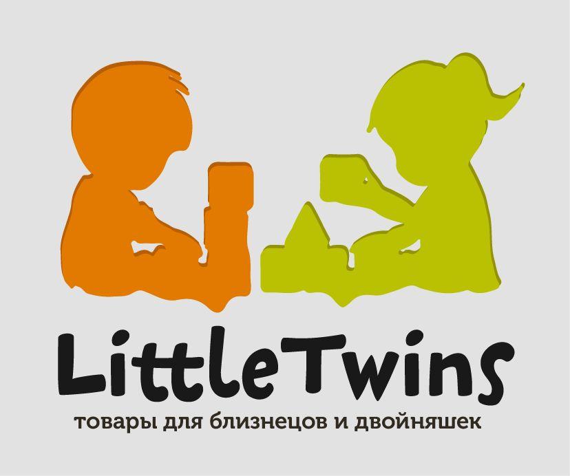 Логотип детского интернет-магазина для двойняшек - дизайнер pecypc