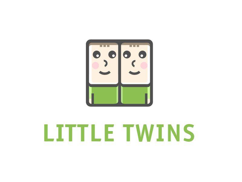 Логотип детского интернет-магазина для двойняшек - дизайнер karina_a