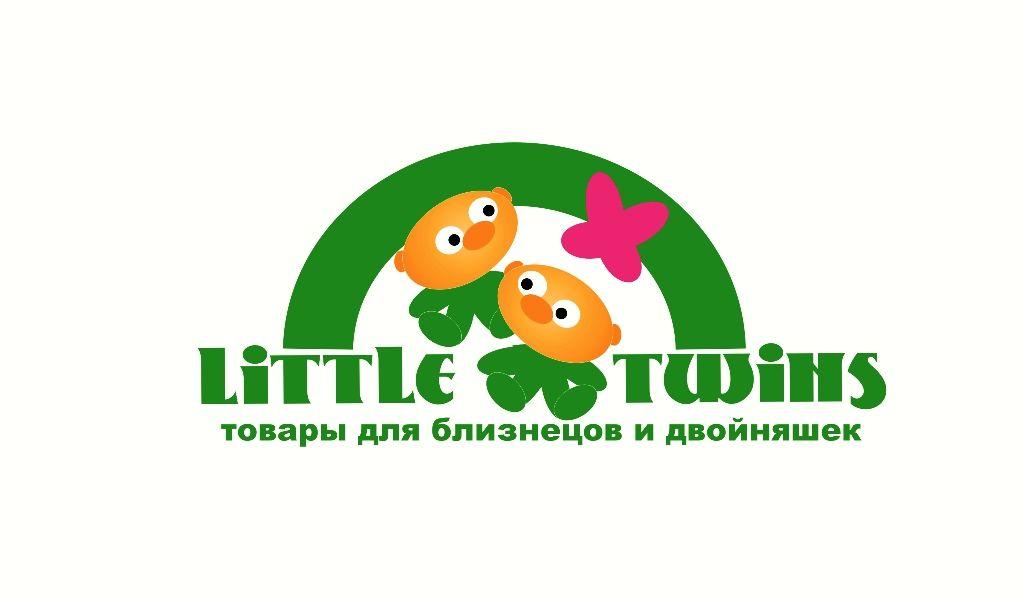 Логотип детского интернет-магазина для двойняшек - дизайнер Arkasha-