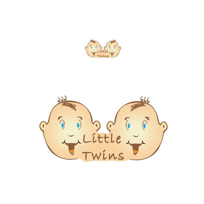 Логотип детского интернет-магазина для двойняшек - дизайнер djobsik
