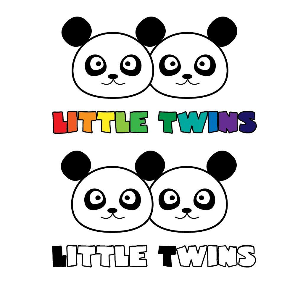Логотип детского интернет-магазина для двойняшек - дизайнер kim_ev