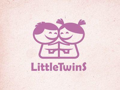 Логотип детского интернет-магазина для двойняшек - дизайнер ANDruska