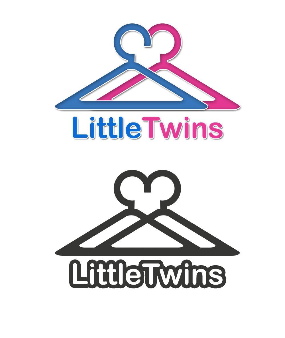 Логотип детского интернет-магазина для двойняшек - дизайнер MabidaMagz