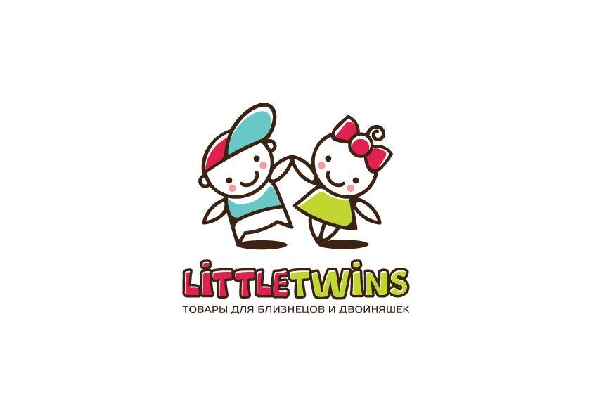 Логотип детского интернет-магазина для двойняшек - дизайнер zanru