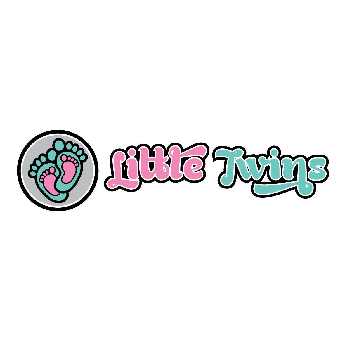 Логотип детского интернет-магазина для двойняшек - дизайнер kit-design