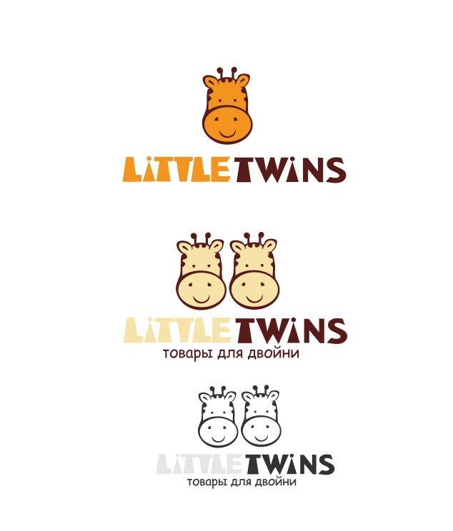 Логотип детского интернет-магазина для двойняшек - дизайнер Ekalinovskaya
