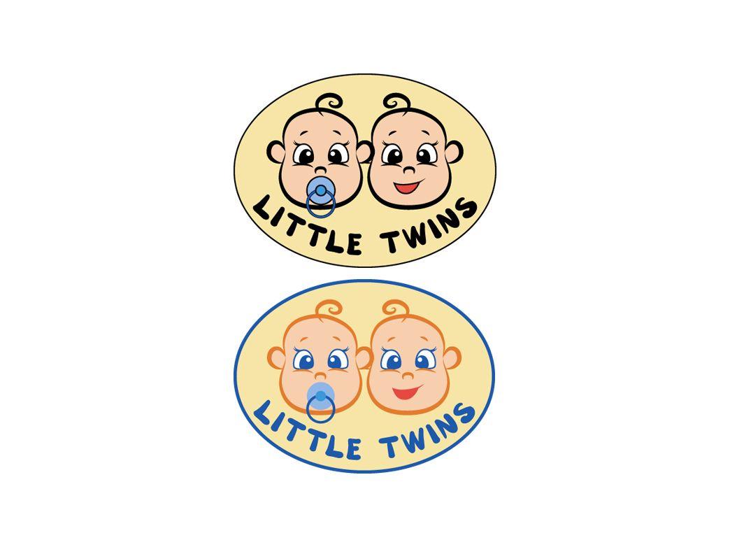 Логотип детского интернет-магазина для двойняшек - дизайнер SmokingSky