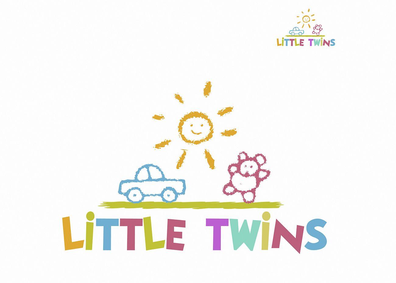 Логотип детского интернет-магазина для двойняшек - дизайнер Stas_Klochkov