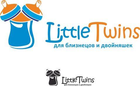 Логотип детского интернет-магазина для двойняшек - дизайнер OlikaF