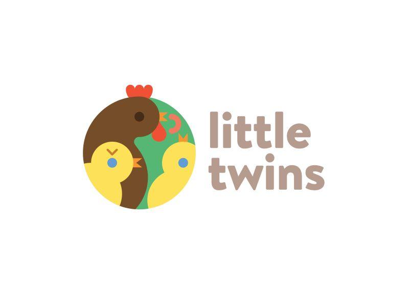 Логотип детского интернет-магазина для двойняшек - дизайнер ru_ferret