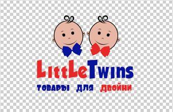 Логотип детского интернет-магазина для двойняшек - дизайнер Ugly1990