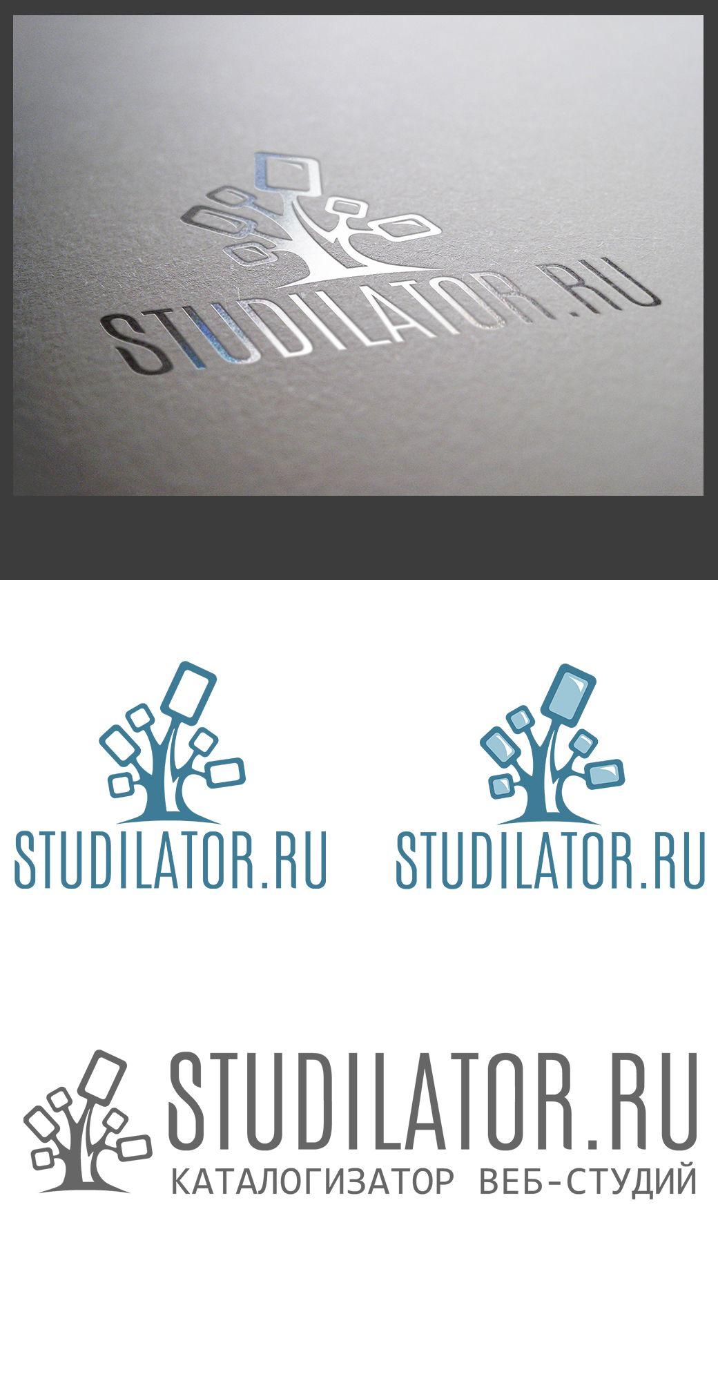 Логотип для каталога студий Веб-дизайна - дизайнер Bercherglod