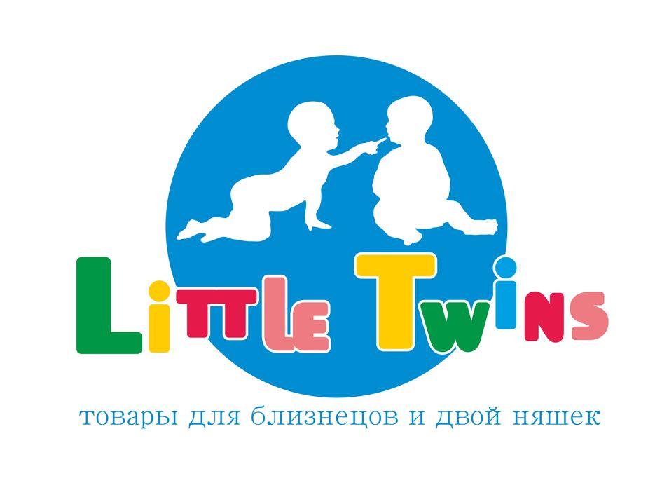Логотип детского интернет-магазина для двойняшек - дизайнер SpringInside