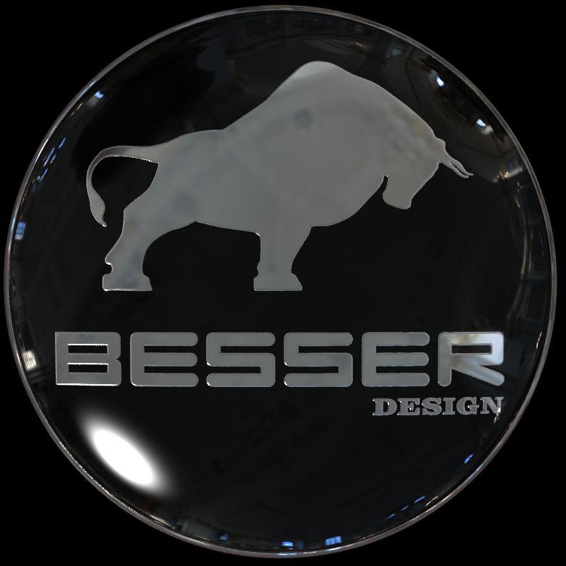 Логотип для тюнинг-ателье BESSER - дизайнер turboegoist
