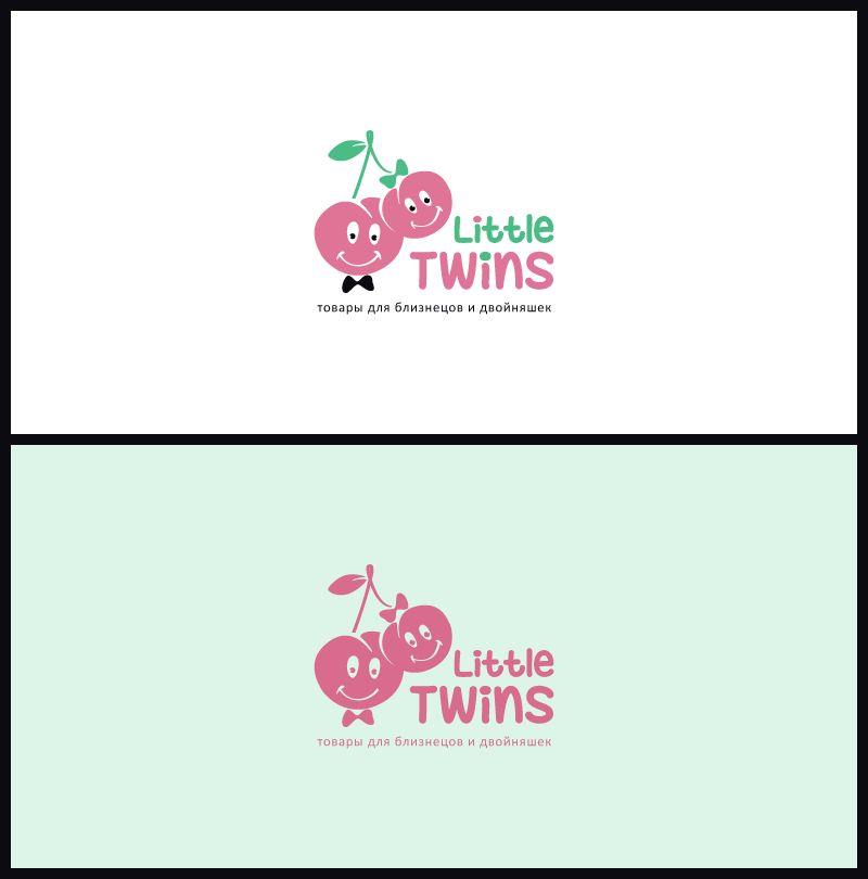 Логотип детского интернет-магазина для двойняшек - дизайнер Betelgejze