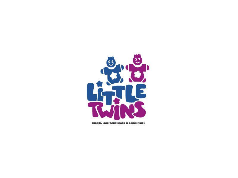 Логотип детского интернет-магазина для двойняшек - дизайнер oksygen