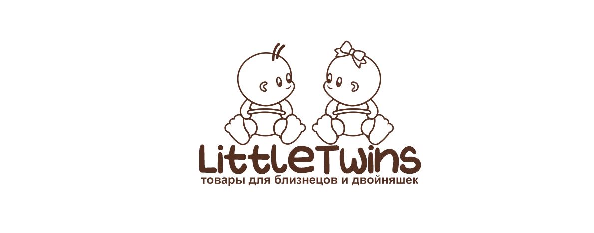Логотип детского интернет-магазина для двойняшек - дизайнер CAMPION