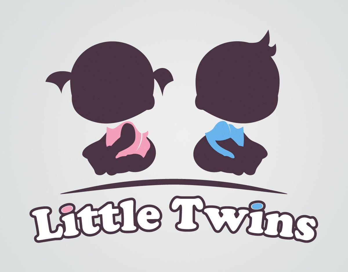 Логотип детского интернет-магазина для двойняшек - дизайнер parshirina