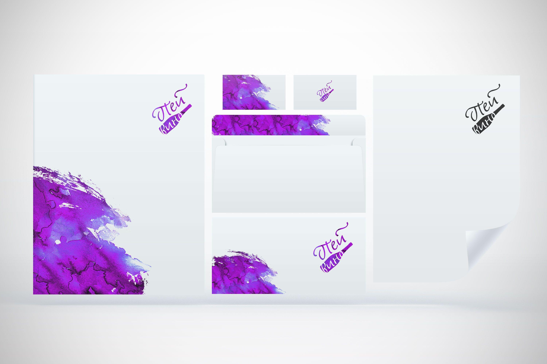 Фирменный стиль для компании Пейвино - дизайнер TanOK1